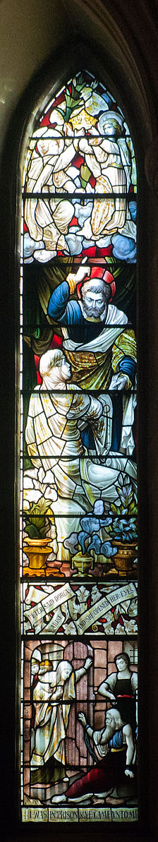 224px-Dublin_St._Patrick's_Cathedral_Ambulatory_Southern_Section_Window_Raising_of_Dorcas_by_Saint_Peter_2012_09_26